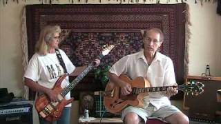 TWILIGHT TIME - Jazz Guitar and Bass Solo  - JIM&DEB