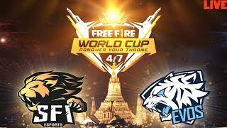 [LIVE] FFWC || FREE FIRE WORLD CUP INDONESIA || GIVEAWAY (LIKE & SUBSCRIBE)