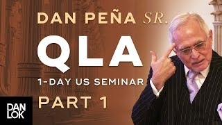 Dan Peña - 50 Billion Dollar Man DanPena QLA One Day US Seminar Part 1