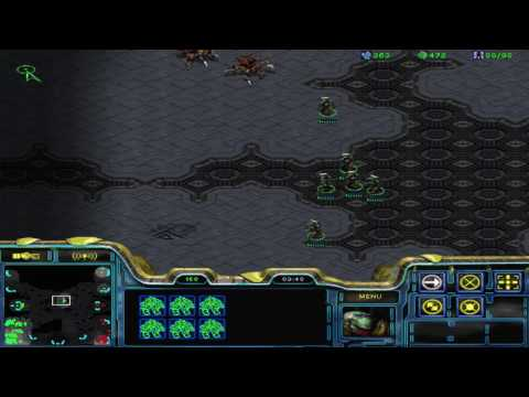 StarCraft Brood War (1.18 - Public Test Realm) 1v1 Connor5620 (P) vs fifin (Z)