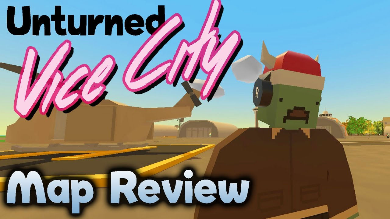 Unturned Seattle Map.Unturned Gameplay Vice City Custom Map Review Youtube