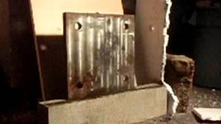 Air Cannon #23 - AA Batteries Fired At Steel Plate