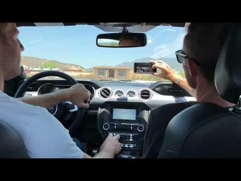 Drifting the  Ford Mustang Bullitt