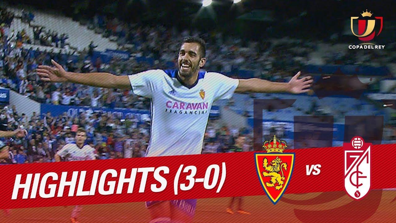 Real Zaragoza 3-0 Granada CF