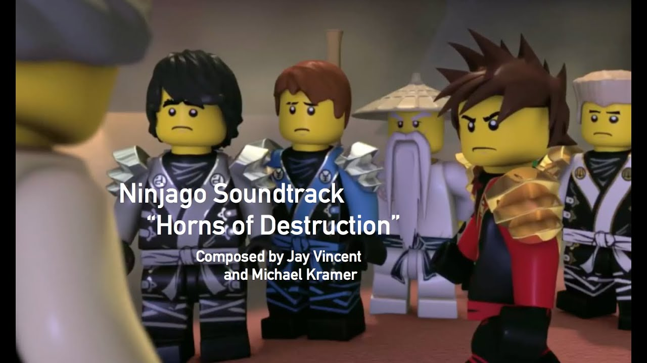 Ninjago Soundtrack Horns of Destruction Jay Vincent