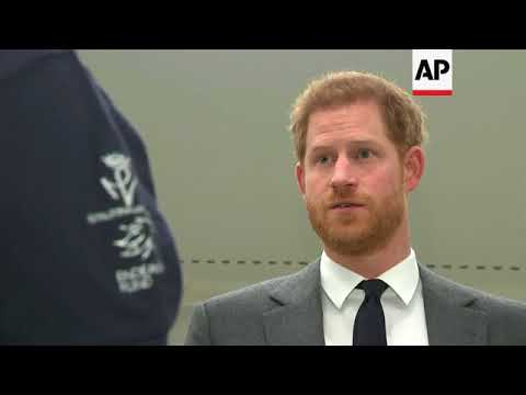 UK's Prince Harry launches Walk of America expedition