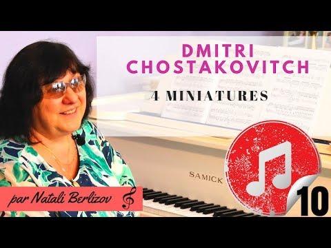 BEST OF PIANO - Dmitri Chostakovitch - 4 miniatures
