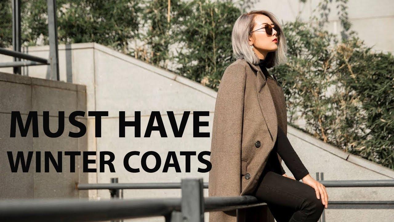 MÙA ĐÔNG PHẢI CÓ 5 CHIẾC ÁO KHOÁC NÀY | MUST HAVE WINTER COATS | From Sue