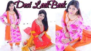 Desi /Indian Lookbook Rakhi/Rakshabandhan Outfit Ideas | SuperPrincessjo