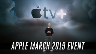 Gambar cover Apple TV Plus March 2019 event in 7 minutes