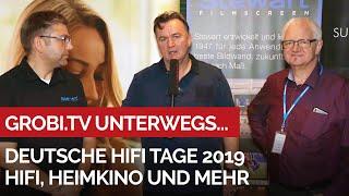 Deutsche Hifi Tage 2019 in Darmstadt - Hifi, Heimkino und mehr