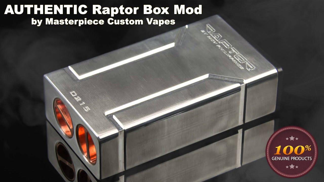 Raptor Vape Build Naos Diy Wiring Diagram Box Mod Masterpiece Custom Vapes Youtube 1920x1080