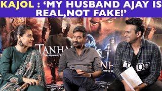 Kajol : 'My husband Ajay is Not FAKE!'
