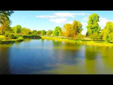 Denver's Washington Park aerial 4k tour