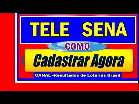 Como Cadastra Tele Sena/cadastra tele sena - You Tube from YouTube · Duration:  3 minutes 32 seconds