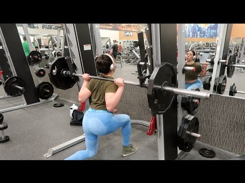 329d59d71c052d LEG DAY IN GYMSHARK BLUEBERRY MARL SPRING FLEX LEGGINGS!! - YouTube
