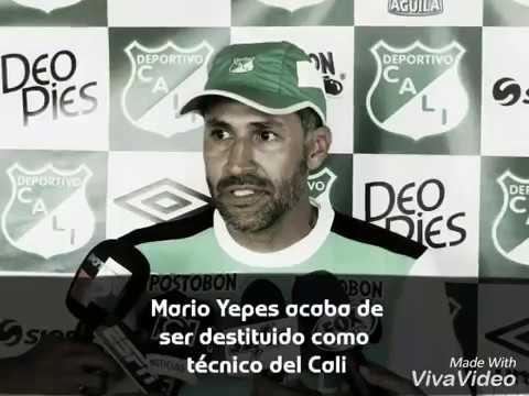 Mario Yepes renuncia al Cali -Gracias Yepes-