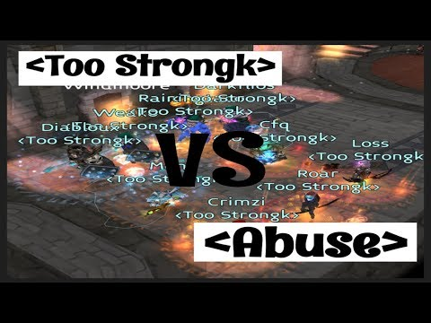 AL PvP I LVL 43 - Too Strongk Vs Abuse (CTF/TDM Combo)