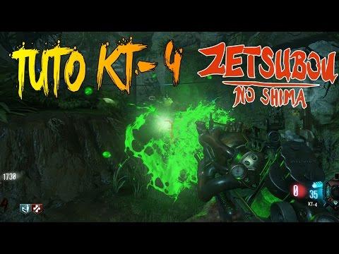 ZETSUBOU NO SHIMA ZOMBIES | ARME SECRÈTE KT-4 | TUTO BO3 EASTER EGG