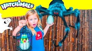 HATCHIMALS Assistant Spooky Ghost Halloween Surprise Hatchimals Adventure Video