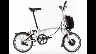 Electric Brompton Bike Review (Preview) and Zehus Motor