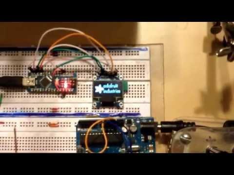 Updated Arduino Bitcoin Ticker /w OLED Display And Adafruit's GFX Library