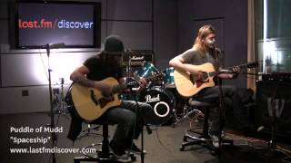 PuddleOf Mudd - Spaceship (Last.fm Sessions)