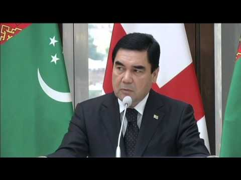 Georgia-Turkmenistan Summit: Turkmen leader talks up trade during state visit to Georgia