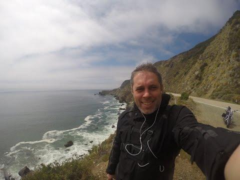 California Pacific Coast Highway 1 Big Sur Harley Davidson motorcycle Spring ride 2015