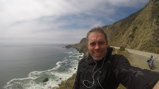 California Pacific Coast Highway 1 Big Sur Harley Davidson motorcycle Spring ride 2015