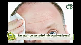 Entrevista sobre la sudoración excesiva con el Dr. Pedro Villagra en Diario Ojo