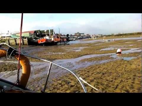 KeepTurningLeft Life on a drying mooring in Norfolk