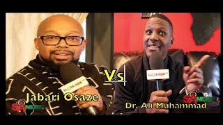 Dr. Ali Muhammad Vs. Jabari: A Clashing Of 2 Worlds; Aborigines Of Africa