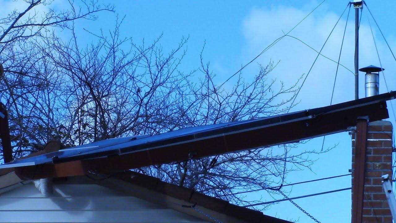 Solar Panel Summer Winter Tilt Angle Effect Youtube