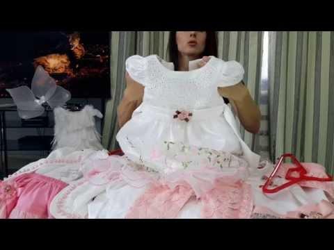 Новогодние платья для моей дочки с Таобао