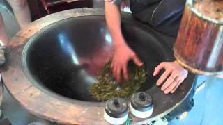 Frying Tea Leafs