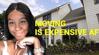 MOVE IN VLOG 1: HOUSE TOUR +Moving out @ 19