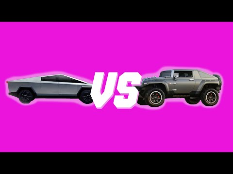 Electric Hummer vs Cybertruck