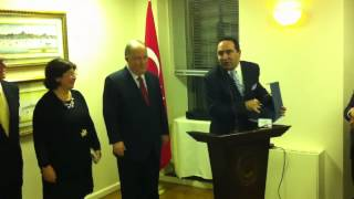 Farewell reception for Ambassador Ertugrul Apakan at the Turkish Center in New York