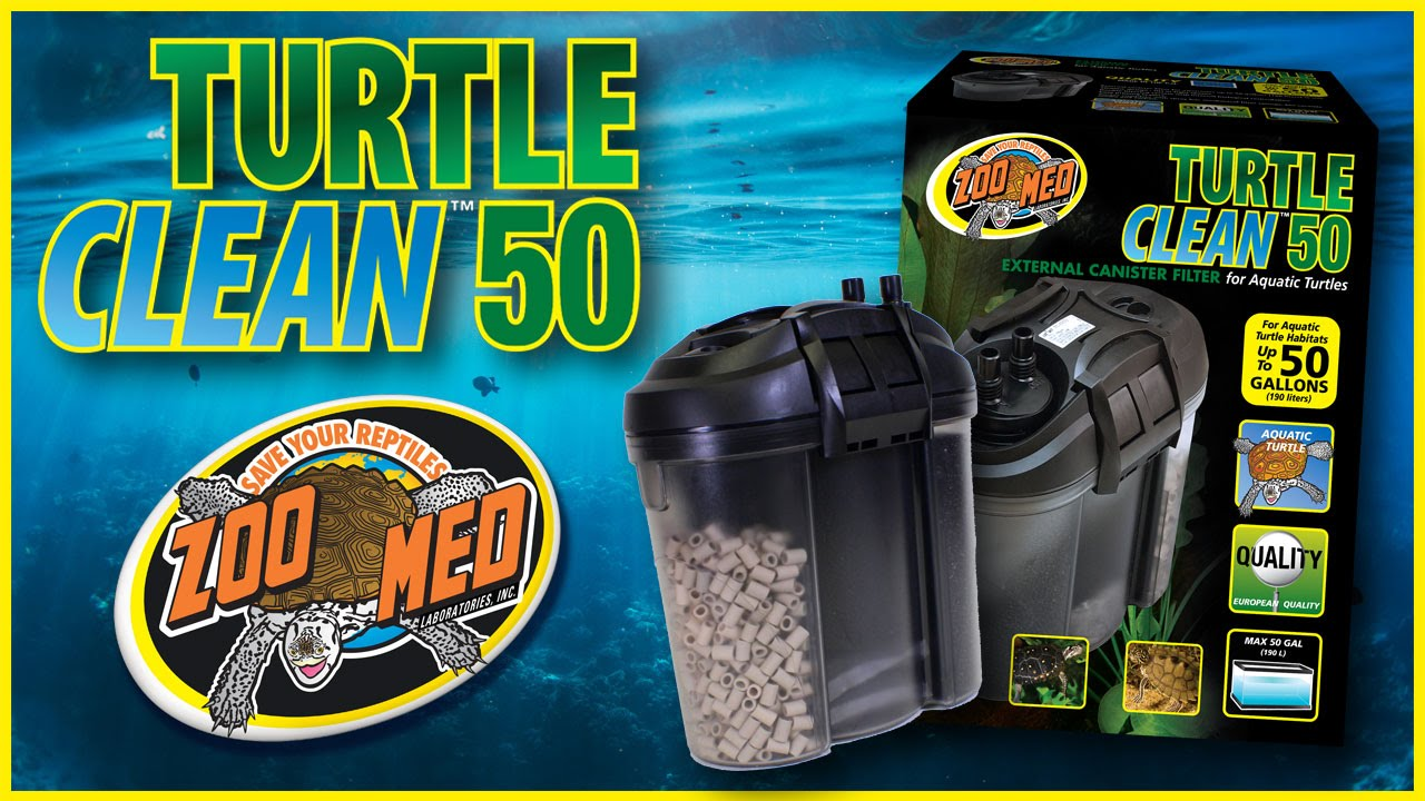 Zoo Med Turtle Clean 50 External Canister Filter Youtube