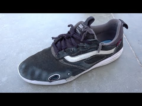 6232f0c5c2ef6a Fully skated VANS ULTRA RANGE Shoe REVIEW! - YouTube