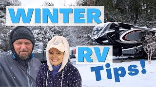 Winter RVing Tips (Stay Warm in your RV!)   Changing Lanes!