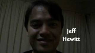 Jeff Hewitt - Reacharounds For The Soul (2009 Melbourne International Comedy Festival)