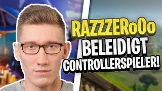 RAZZZERO0O insults controller players! | Harmii is annoyed! | Fortnite Highlights English