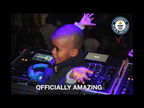 DJ ARCH JNR OFFICIALLY THE WORLDS YOUNGEST DJ (DJAY PRO)