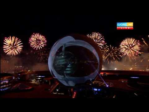 EXPO-2017. Лазерлік шоу және отшашу