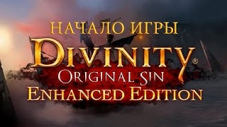 Divinity Original Sin - Enhanced Edition Начало игры (First Minutes PC Gameplay 60 FPS)