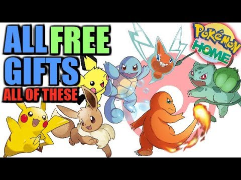 How to get all FREE Gift Pokemon in Pokemon HOME Right Now