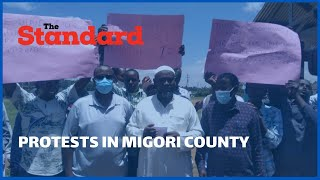 Protests in Migori County by Muslim Community over Issuing of ID\'s to their sons and daughters