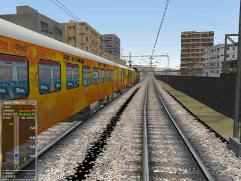 MSTS Indian Railways CST-Karmali Tejas Express CST-Thane Journey